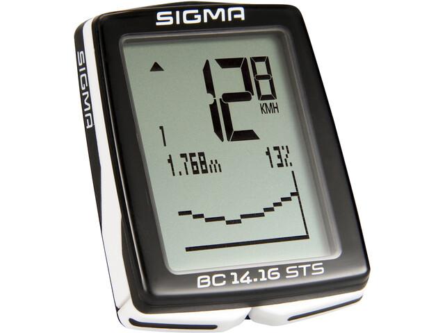 SIGMA SPORT BC 14.16 STS Compteur de vélo sans fil